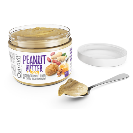 OstroVit Peanut Butter + Honey 500 g